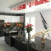 High Gloss Acrylic Panel - Kitchen View 1
