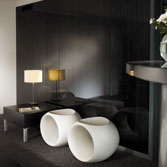 High Gloss Acrylic Panel - Sitting Area