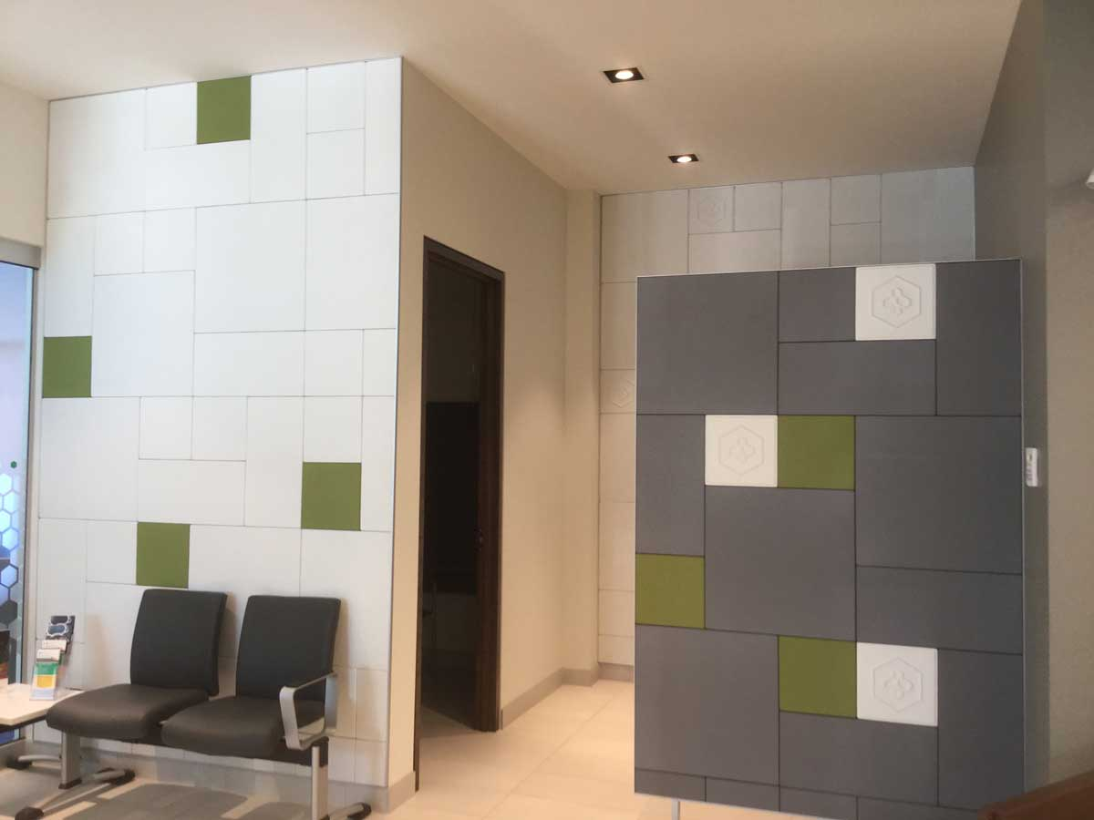 Acoustic Panel Waiting Room