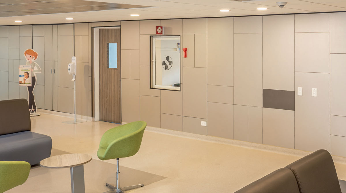 Waiting Area Deco Anti-Bacterial Compact Laminates