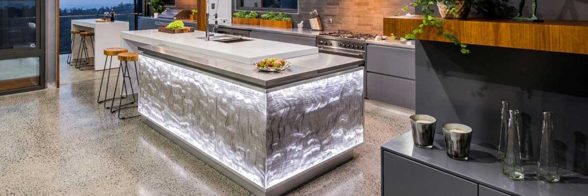 Acrylic Couture Kitchen Island